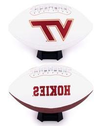 NCAA Virginia Tech Hokies Signature Full Size Football