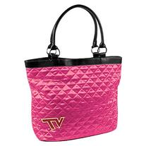 NCAA Virginia Tech Pink Quilted Tote