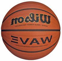 Wilson NCAA Wave Microfiber Composite Basketball, 29,5 -