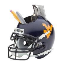 NCAA West Virginia Mountaineers Mini Helmet Desk Caddy