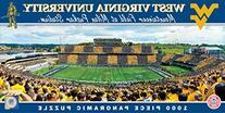 NCAA West Virginia Mountaineers Stadium Puzzle , Small, Gray