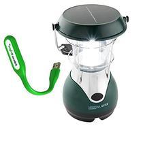 Nebo 5959 WEATHERRITE LED Solar/wind-up rechargeable Eco