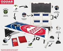 USA American US Flag Baggo Bean Bag Toss Portable Cornhole