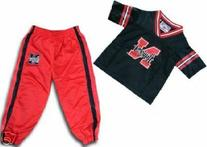 Nebraska Cornhuskers NCAA  Kids/Child Jersey & Pants Set