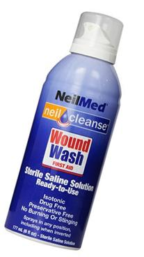 NeilMed NeilCleanse Wound Wash, 6 fl oz
