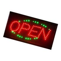 LED Neon Light Open Sign With Animation On/off and Power On/