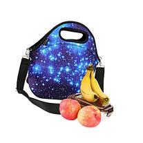 iColor Neoprene Lunch Bag, removale Shoulder Strap, Thermal