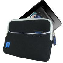 iGadgitz Black Neoprene Sleeve Case Cover with Front Pocket