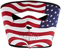 ZANheadgear Neoprene Stars and Stripes USA Flag Face Mask