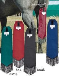 Cashel Neoprene Tail Bag for Horses, Color Choice: Black,