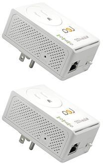 LEA Networks NetSocket AV200 200Mbps PLC Adapter Kit w/