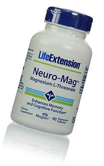 Neuro-Mag Magnesium L-Threonate 90 VegiCaps