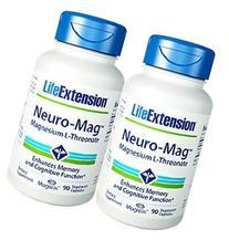 Life Extension Neuro-mag Magnesium L-threonate, 90 Count