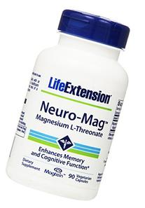 Life Extension Neuro-mag Magnesium L-threonate Dietary