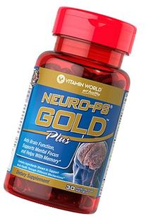 Vitamin World Neuro-PS Gold Plus, 30 Soft Gels