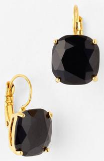 Women's kate spade new york drop earrings - Jet/ Gold
