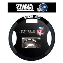 NFL Poly-Suede Steering Wheel Cover NFL Team: New York