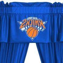 NBA New York Knicks Locker Room Drapes and Valance