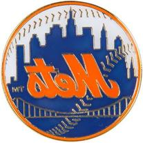 Aminco New York Mets Logo Pin