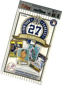 Topps New York Yankees 27 Time World Championship Factory
