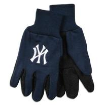 New York Yankees Two Tone Gloves - Adult Size
