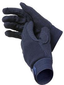 Shires Equestrian Kids Newbury Cotton Grip Gloves - Size: