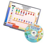 NewPath Learning Chromosomes, Genes, and DNA CD-ROM, Single-