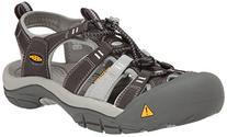 KEEN Women's Newport H2 Sandal, New Raven/Neutral Gray, 5 M
