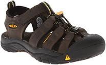 KEEN Newport Premium Sandal ,Dark Brown,10 M US Toddler