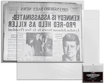 BCW Newspaper Bags 13 3/8 X 11 7/8 100 Pack