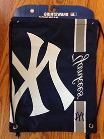 New York Yankees Side Stripe Drawstring Backpack