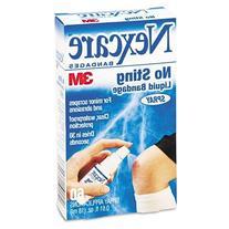 3M Nexcare No-Sting Liquid Bandage Spray, .61Oz, Case of 2