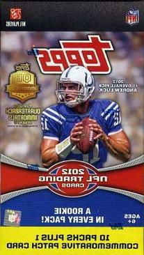 2012 Topps NFL Football Exclusive Factory Sealed Retail Box+
