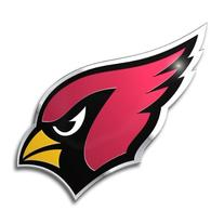 NFL Arizona Cardinals Die Cut Color Automobile Emblem