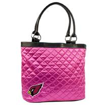 NFL Arizona Cardinals Pink Quilted Tote