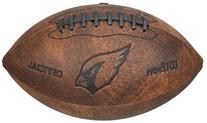 NFL Arizona Cardinals Vintage Throwback Football, 9-Inches