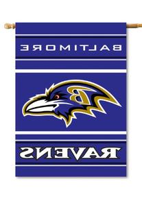 NFL Baltimore Ravens 2-Sided 28-by-40-Inch House Banner