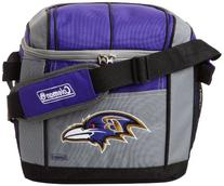 NFL Baltimore Ravens 24 Can Soft Sided Carry Coleman Cooler