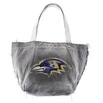 NFL Baltimore Ravens Black Vintage Tailgate Tote