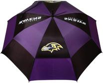 NFL Baltimore Ravens 62-Inch Double Canopy Umbrella
