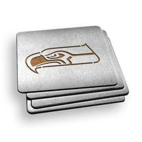 NFL Seattle Seahawks Boasters, Heavy Duty Stainless Steel