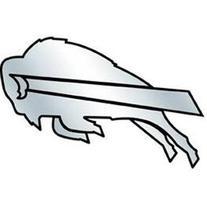 NFL Buffalo Bills Chrome Automobile Emblem