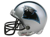 NFL Carolina Panthers Deluxe Replica Football Helmet