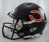 Chicago Bears Riddell Speed Full Size Authentic Football
