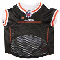 Pets First Official NFL Cleveland Browns Jersey Large
