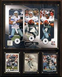 NFL Dallas Cowboys Aikman/Staubach/Romo 12x15-Inch Legacy