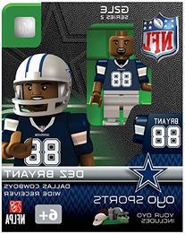 NFL Dallas Cowboys Dez Bryant Gen 2 Mini Figure, Small