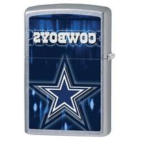 Zippo NFL Dallas Cowboys Street Chrome Pocket Lighter