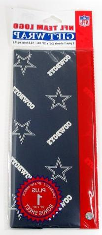 NFL Dallas Cowboys Wrapping Paper
