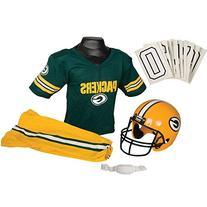 Franklin Sports NFL Packers Medium Deluxe Uniform Set